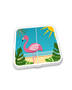 Breekmunten Flamingo beach